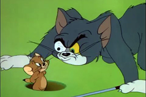 Tom a Jerry - Na golfe